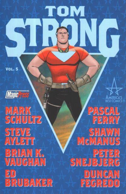 TOM STRONG Vol. 5 ALAN MOORE...ed. Magic Press NUOVO SCONTO 50%