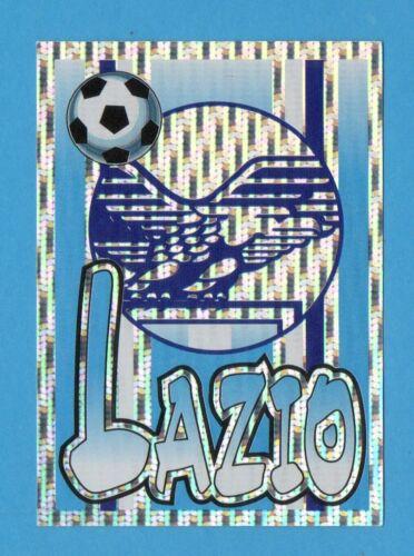 STEMMA//SCUDETTO LAZIO PANINI SUPERCALCIO 97//98-Figurina n.17 NEW