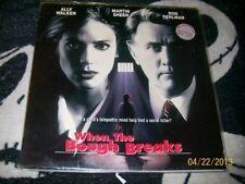 When the Bough Breaks Laserdisc LD Martin Sheen Ron Perlman Free Ship $30 Orders