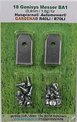 Nouveau!! 30 titan couteau lames pour Gardena ® r38li r40li r45li r50li r70li r80li