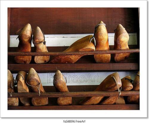 Cobbler Shoe Forms Art//Canvas Print Poster Home Decor Wall Art
