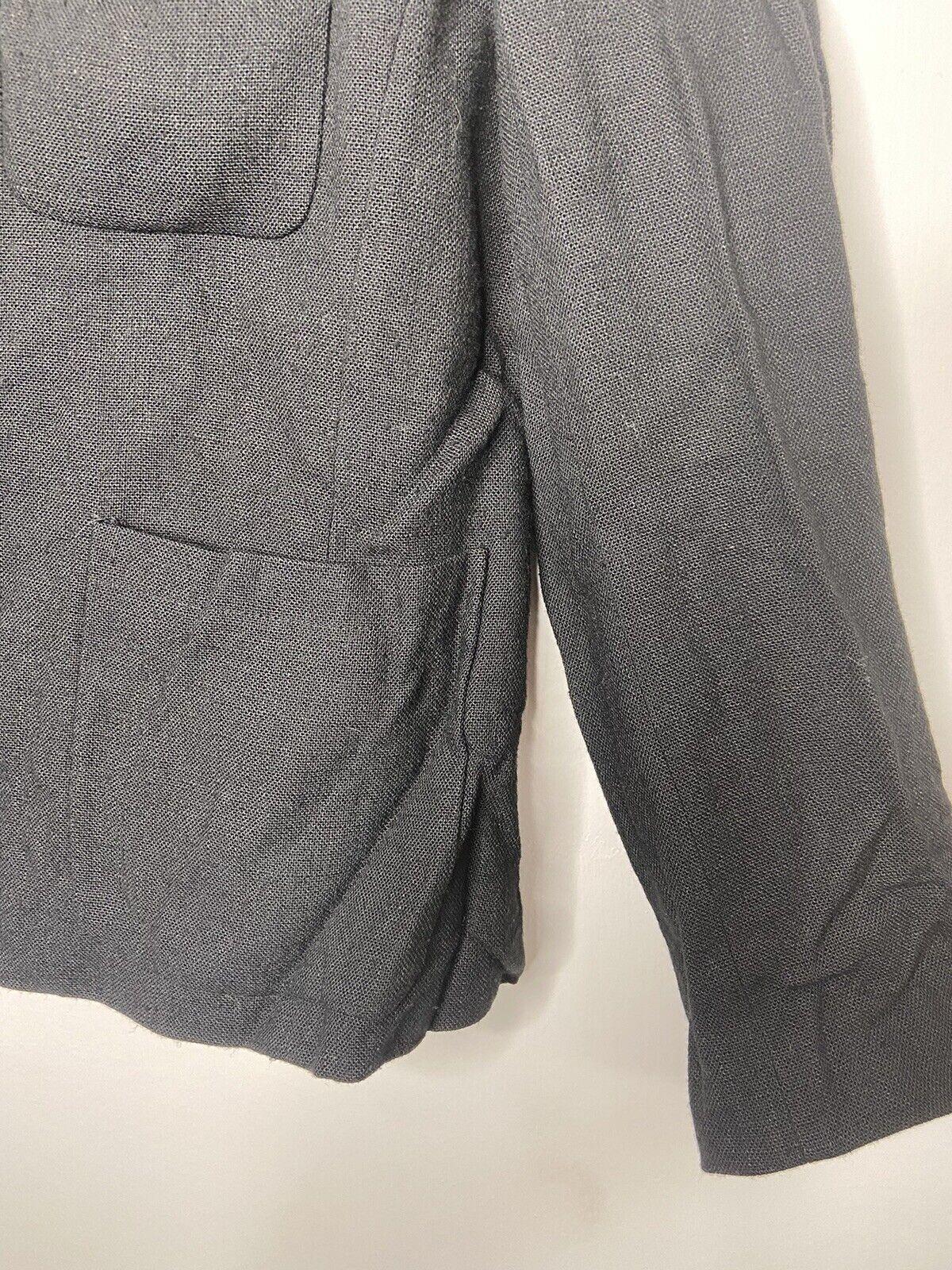 Vintage 90s Prada Womens Black Blazer Suit Jacket… - image 5