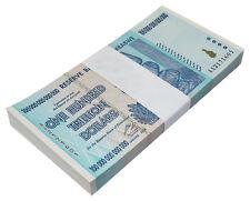 Zimbabwe 100 Trillion Dollars X 100 Pieces (PCS), AA/2008, P-91, UNC, Bundle