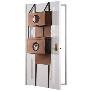 Sortwise® Door mounted cat house Hanging Funny Hole - stable Kitty furniture