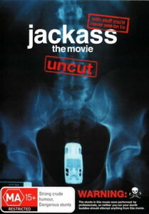 Jackass-The-Movie-Uncut-Comedy-Adventure-Johnny-Knoxville-NEW-DVD