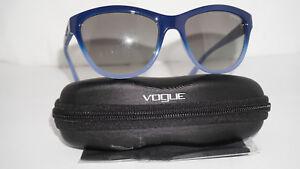 0c8501de9d998 VOGUE New Sunglasses Blue Gradient Grey VO2993-S 2346 11 57 18 140 ...