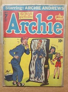 Archie-Comics-7-1943-Complete-Golden-Age-Comic-Book-NEW-PICS-ADDED