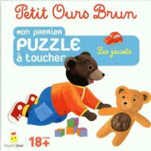 Petit-Ours-Brun-mon-premier-puzzle-a-toucher-les-jouets-Neuf-18-mois-et