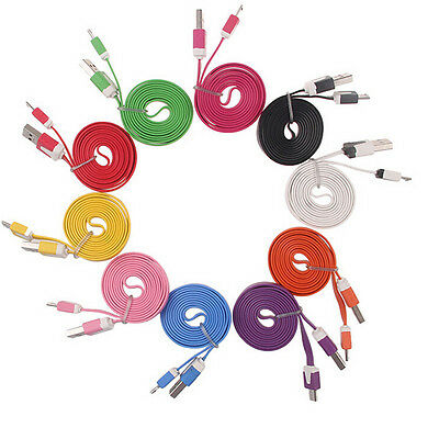 Cell Phones Data Cable Micro USB Charger Sync Cord for HTC Samsung Random Color