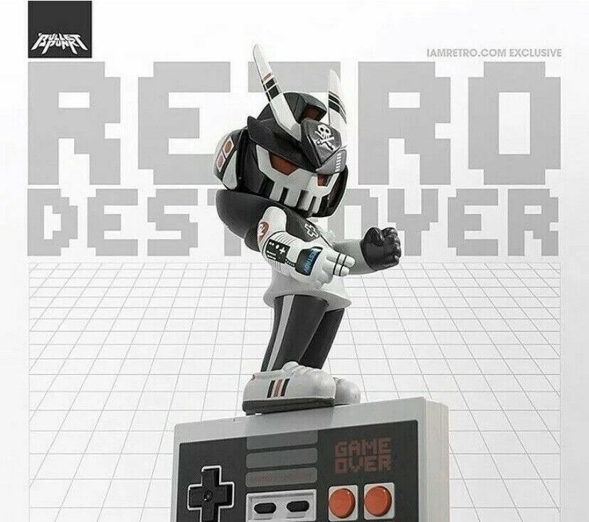 NES Retro Destroyer TEQ63 by Quiccs x Martian Toys x IamRetro Exclusive SOLD OUT