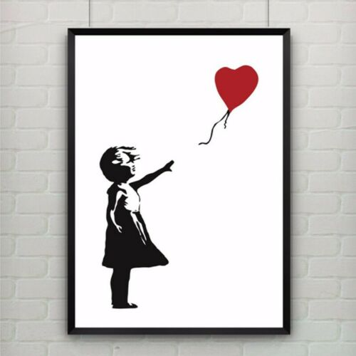 Banksy canvas Print painting Wall Pictures for home decor drop ship