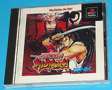 Samurai Shodown 3 - Sony Playstation - PS1 PSX - JAP