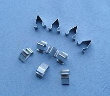 (2360) 10x lamiera metallo morsetto supporto parentesi steckklammer per AUDI SEAT SKODA
