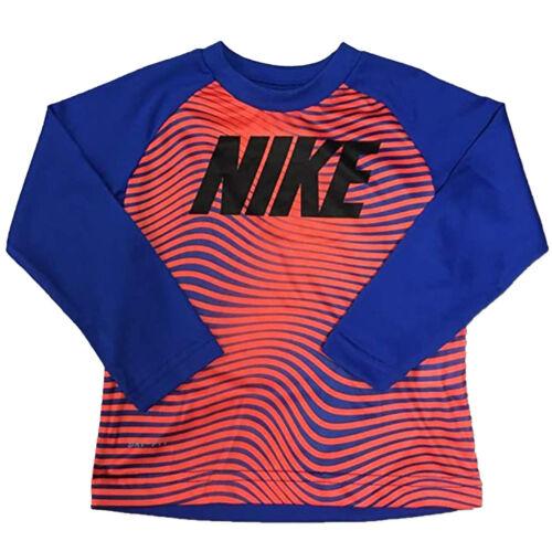 Nike Little Boys/' Long-Sleeve Graphic-Print T-Shirt
