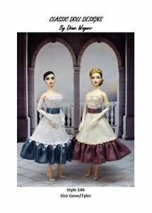 SEWING PATTERN-Style 146 Designer Inspired Dress Gene Tyler