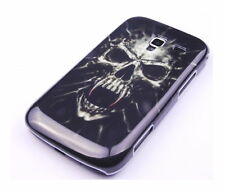 Hülle f Samsung Galaxy Ace 2 i8160 Schutzhülle Case Tasche Cover Totenkopf Skull