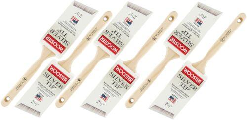 "Bulk Lot Box Wooster Silver Tip Angled Sash Paint Brush 2-1//2/"" #5221 6"