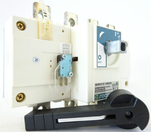 Socomec Sirco 250a lasttrennschalter switch disconnector UE 415v inventario compra