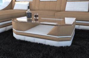 Details zu Wohnzimmertisch Design TURINO Stoff Beistelltisch Wohnzimmer  Couchtisch Farbwahl