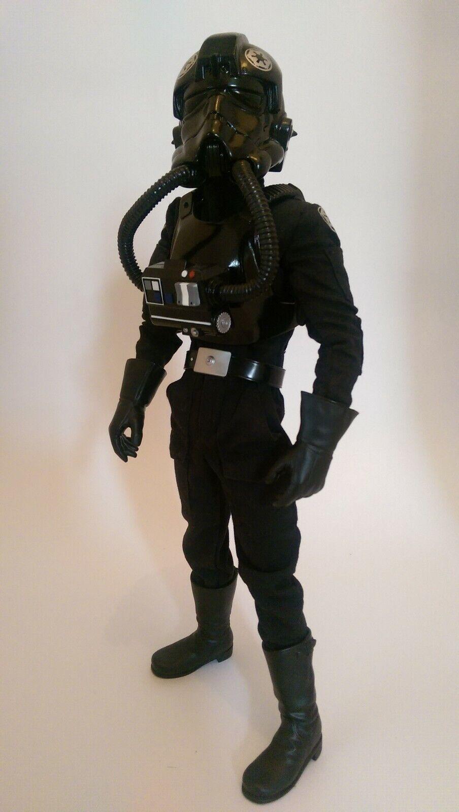 Medicom Star wars Tie Fighter Pilot RAH 1 6 figure Episode IV ANH