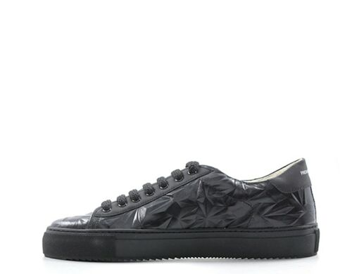 Sneakers Scarpe Uomo bk 3d t Trendy A251 D Nero e a Naturale Pelle nw g1wrWgqX