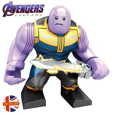 Thanos Figure Lego Fit New Sword Avengers End Game Marvel Gauntlet UK Seller