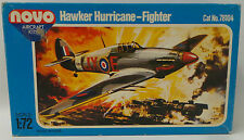 AVIATION : HAWKER HURRICANE-FIGHTER MODEL KIT BY NOVO KIT NO.78104 MADE IN USSR