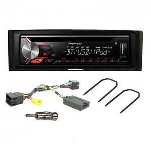 pioneer deh 3900bt car cd bluetooth stereo fitting kit. Black Bedroom Furniture Sets. Home Design Ideas