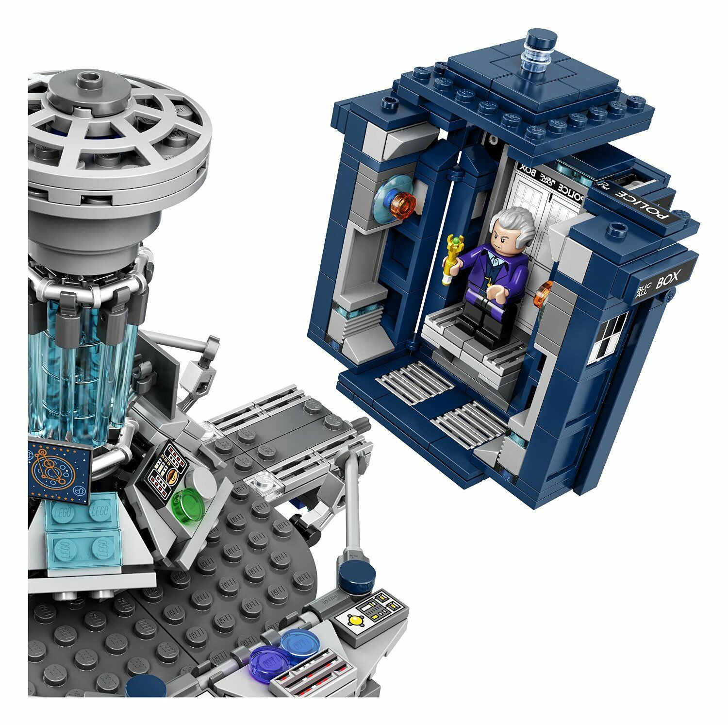 NEW NEW NEW LEGO Ideas Doctor Who 21304 Building Kit 9e2dc1
