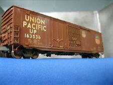Ho scale   Union Pacific  # 163536  Metal wheels Kades pro weathered.
