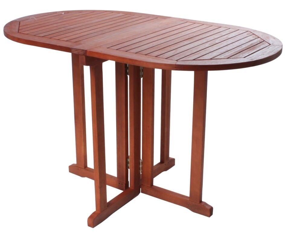 Garden Pleasure Balkontisch Baltimore Eukalyptus Holz Garten Tisch Esstisch