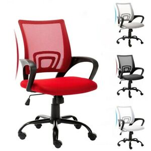 Ergonomic Mesh Office Chair 360 Swivel Computer Desk Chair Heavy Duty Metal Base