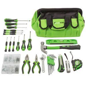 STARKMANN-Greenline-756tlg-Werkzeugtasche-Werkzeug-Set-Tasche-Box
