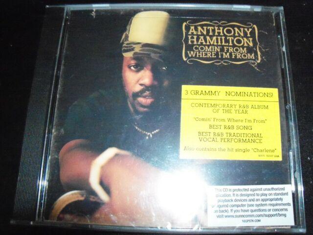 Anthony Hamilton – Comin' From Where I'm From CD – New