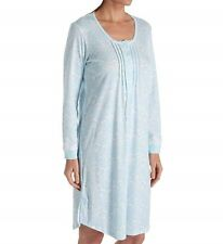 b21524693a item 5 Miss Elaine Nightgown Plus Size Long Sleeve Scoop Neck Paisley 1X