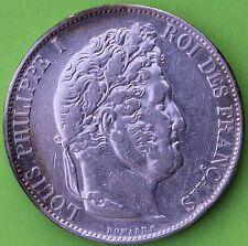 QUALITE FRANCE 5 FRANCS LOUIS PHILIPPE 1848 BB