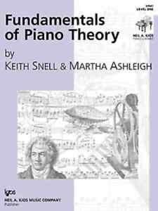 """""""les Fondamentaux De Piano Theory"""" Niveau 1-snell Music Book Kjos Neuf En Promotion!!!-afficher Le Titre D'origine"""