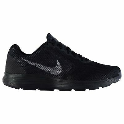 Nike Revolution 3 Trainers Mens Black/Grey Sports Shoes Sneakers Footwear