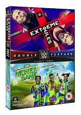 WWE Extreme Rules 2017 + Money In The Bank 2017 [DVD] *NEU* Raw + Smackdown PPV