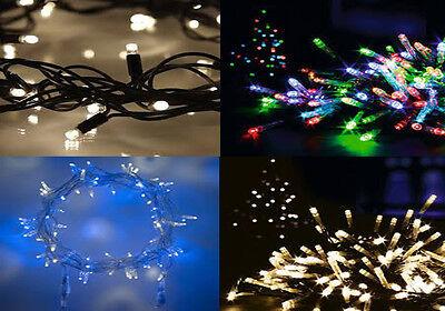 Leale 600 Led Outdoor Indoor Natale Xmas Party Decorazione Fata 8 Funzioni Luci-mostra Il Titolo Originale Ultimo Stile