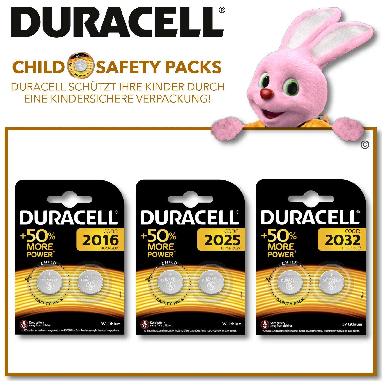 Duracell Specialty Lithium - Knopfzellen CR 2032 2025 2016 Batterien | Attraktive Mode