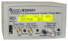 AE20401 5.8 GHz Frequenzzähler / Power Meter / Impulszähler - Komplett-Bausatz