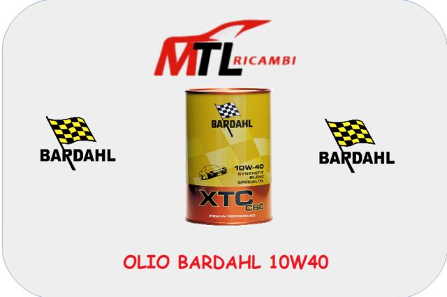 OLIO MOTORE AUTO BARDAHL XTC C60 10W40 1 LT
