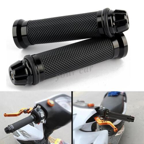 NEW UNIVERSAL RUBBER GEL HANDLEBAR HAND GRIPS HANDLE BARS END FOR MOTORCYCLE