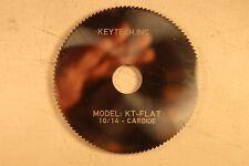 Keytech Inc Key Machine Cutting Wheel Carbide Model Kt Flat 1014