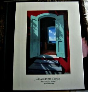 art-book-A-PLACE-IN-MY-DREAMS-signed-by-artist-DON-DAHLKE