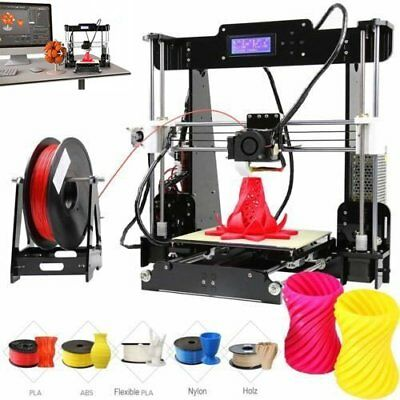 A8 3D Printer DIY i3 Upgradest High Precision Reprap Prusa 3d Drucker DHL