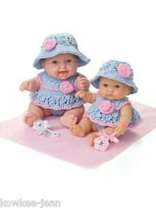 Lots To Love Babies Baby Doll Clothes To Knit For 8 10 Dolls See