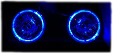 "6024 BLUE HALO EURO HEADLIGHT SEALED BEAM CONVERSION KIT 7"" ROUND SUPERWHITE"