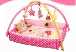 D56-Baby-Fitness-Bodybuilding-Frame-Velvet-Cotton-Play-Mat-Activity-Gym-A